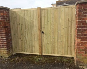 Straight Top TVG D.way Gates - 6ft H - Buying Total Width