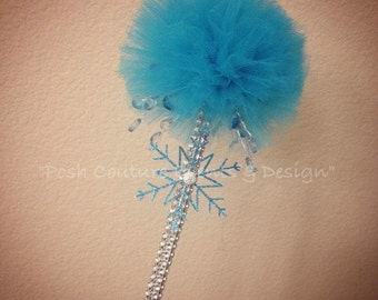 Tulle Wand/ Magic Wand/ Tulle Pom Pom Wand/ Tulle Puff/ Tulle Magic Wand/ Party Favor/ Gift Favor
