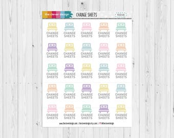 Change Sheets Planner Stickers (17222-03)
