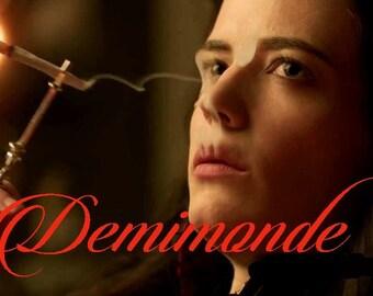 Demimonde Perfume Oil 1/2 oz- Penny Dreadful Tribute, Dark Fantasy Perfume, Vanessa Perfume, Gothic Perfume, Victorian Perfume, Vanessa Gift