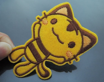 Iron on Patch - Cat Patches Cute Kitty Patch Cats Iron on Applique embroidered patch Sew On Patch