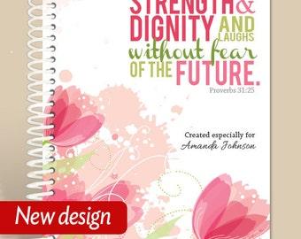 Proverbs 31 Woman / Personalized Journal / Prayer Journal