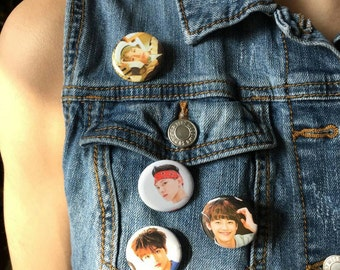 NCT Dream pinback buttons