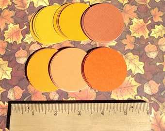 """2"""" CARDSTOCK CIRCLE SALE -  50 - 2 Inch  Cardstock  Circles - Free Secondary Shipping"""