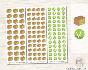 Hello Fresh & Youfoodz Delivery Stickers - Planner Stickers - FS77