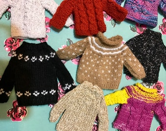 Handmade wool sweaters with top quality! Offer! Sweaters of wool crafts