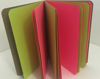 Mix Your Own Paper!! 24lb Paper Traveler's Notebook Insert- ALL Sizes, Including B6, B6 Slim, Personal, & A6! Choose Your Cover Color!
