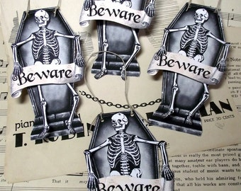 halloween download skeleton tags