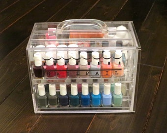 Nail Pail - nail polish organizer (polish & accessories not included)
