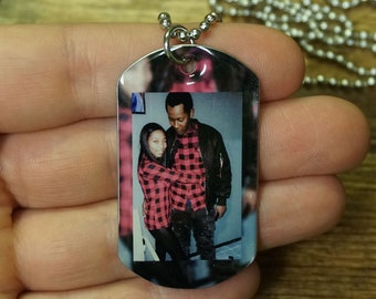 1 Custom Picture Necklaces FREE SHIPPING : gift for him & her, Gift For her, Gift for friend, gift for bf, gift for husband