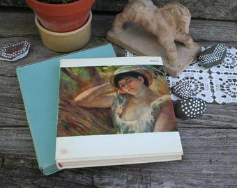 RENOIR / The Taste Of Our Time /SKIRA /  Biographical and Critical Study By Denis Rouart / Translated by James Emmons / 1954 Edition