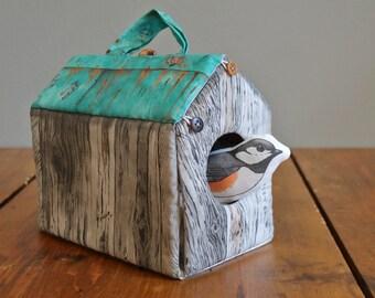 Wee Fabric House: Chickadee House