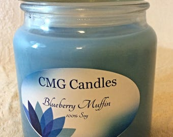 Blueberry Muffin Candle (16 oz)
