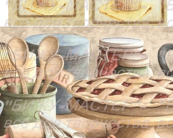 Rice paper decoupage #160062 vintage Decopatch Decoupage supplies