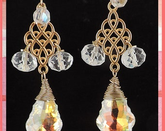Fabulous Swarovski crystal drops