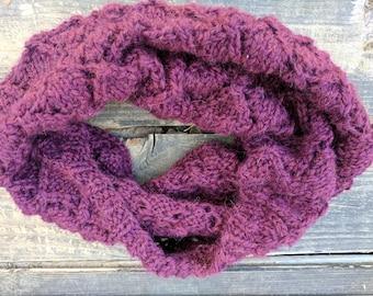 Super Soft Baby Alpaca Lace Knit Cowl