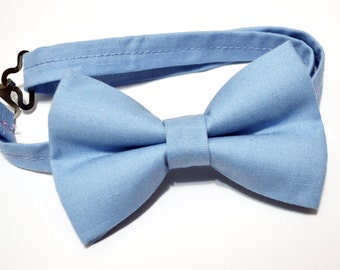 Blueberry Bow tie/ blue gray bow tie, baby bow tie, boys bow tie ,adult bow tie,groomsmen bow tie, men's bow tie, wedding bow tie