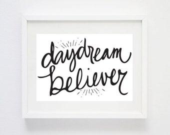 Daydream Believer - Digital Art Print