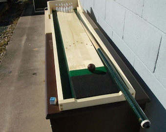 Cue Bowling - Portable Table Top Bowling Game