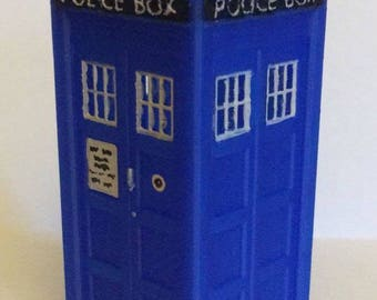 Doctor Who / Dr Who Tardis  - 3D Printed and Hand Painted Model