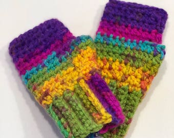 Fingerless Gloves-Child (5y-12y)