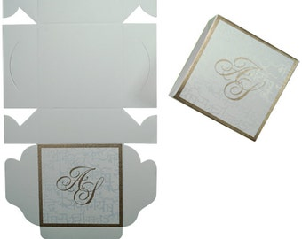 Set of 50 Wedding Favor Box
