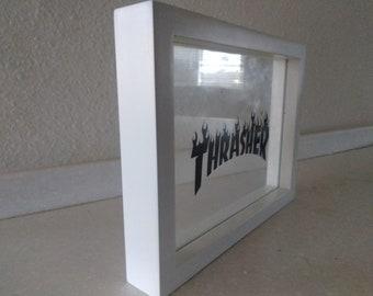 Thrasher inspired floating artwork