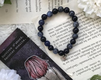 Last star of the galaxy - Mala Bracelet