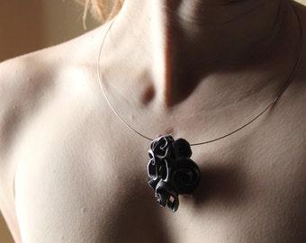 Rose Bouquet Necklace