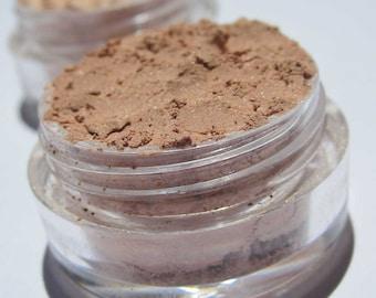 Semi-Matte Creamy Coffee Eyeshadow Shade | Cruelty-Free | Vegan Mineral Eye Shadow | Loose Pigments | Every Day Shade of Brown -Coffee Latte