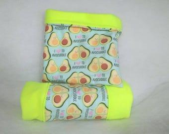 Avocado Snuggle Sack and Tunnel Set