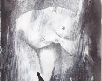 Revenge Drawing- Original drawing