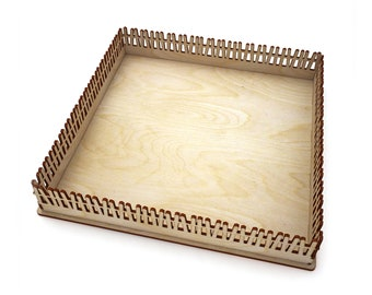 Wooden pallet for playing with sand vector for CNC svg vector file, vector cut file, digital vector art, svg, cnc, cnc file