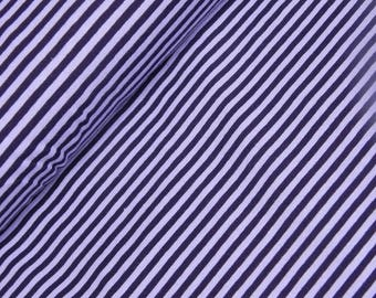 Jersey stripe purple