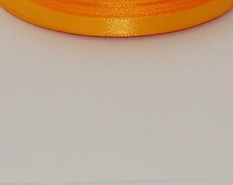 25 m width 6mm Orange satin ribbon