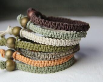 Hemp Bracelet Set