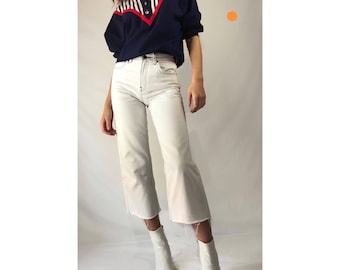 Collared Navy Blouse Fits S/M