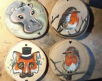 Wooden Magnets (Made to order)
