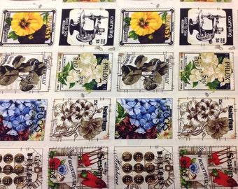 Quilting Treasures tissu Couture graines nouvelle de grande joie les patchs 1 yard