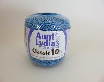 Delft - Aunt Lydia's Crochet Cotton Classic Size 10