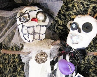 Wedding Lucky Voodoo Doll Couple
