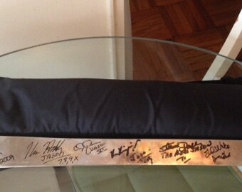 Autographed Real Machete Signed by ALL Actors Who Played Jason Voorhees in Friday The 13th Horror Movie's Franchise