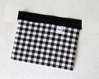 Race car bag, Custom, Checkered, zipper pouch, change purse, mini business card id holder, coin purse, small, cash envelope, kid wallet,boy