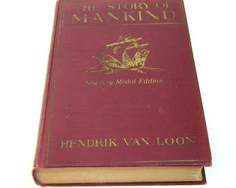 The Story of Mankind by Hendrik Van Loon, Published by Boni and Liveright