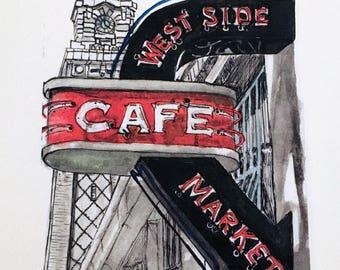 West Side Market Print