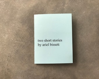 Two Short Stories Zine [PDF Version]