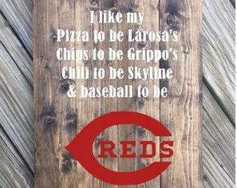 Cincinnati Baseball Sign