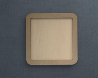 Frame Kit, Square, Wood Frame, Picture Frame, DIY
