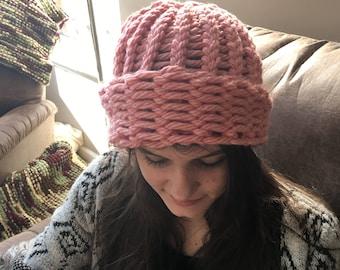 Beautiful thick handmade hat