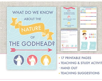 January {Come Follow Me} What do we know about the nature of the Godhead-Teaching Package